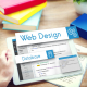 Web design developing